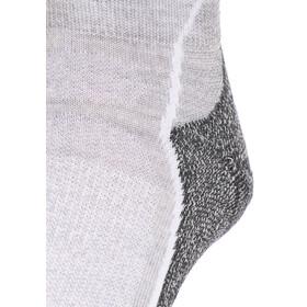 Icebreaker W's Hike+ Light Mini Socks Women blizzard hthr/white/oil
